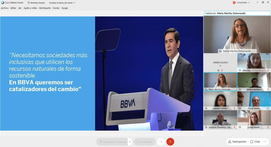 MariaMarthaDeleonardis-AMCHAM-Sustentabilidad-BBVA-Argentina.png