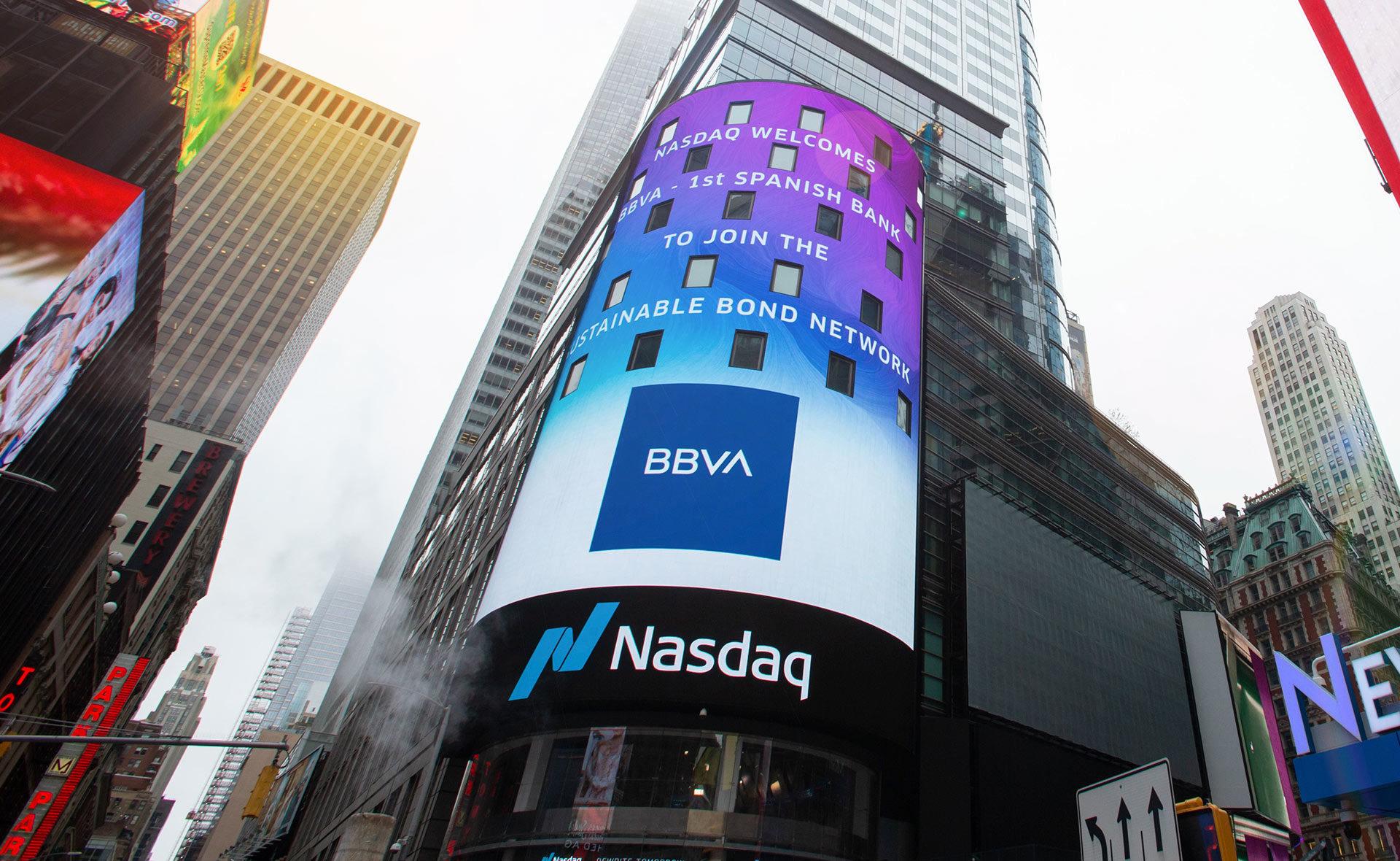 nasdaq-bbva-logo-times-square