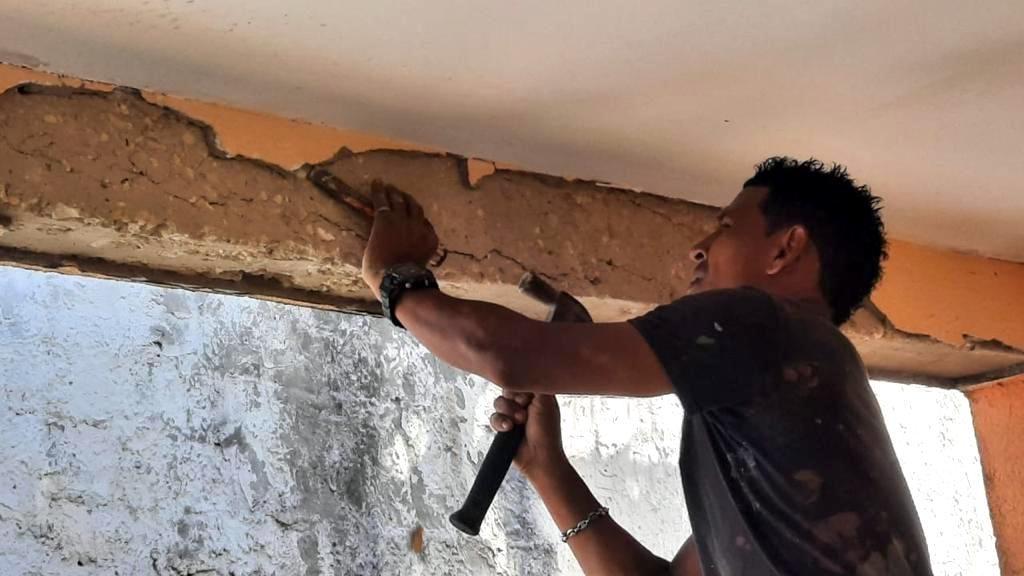 Reconstrucción de viviendas en SanAndrés