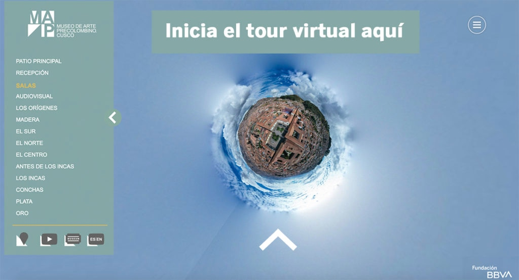 Tour virtual MAP Cusco Peru