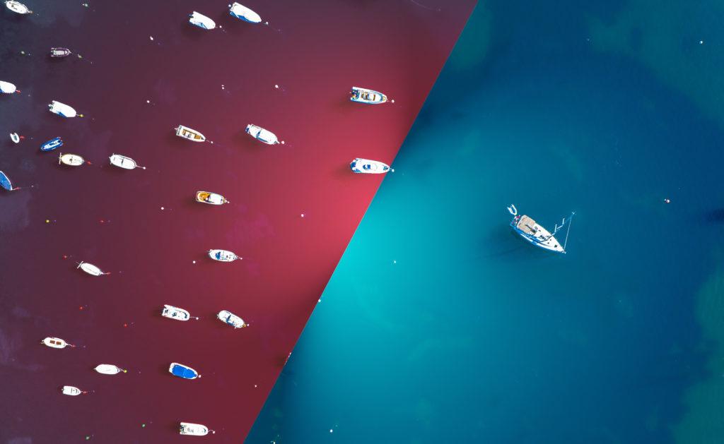 Océano rojo y océano azul: ¿en qué se diferencian estas estrategias empresariales?