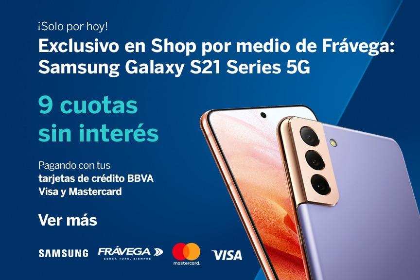 Samsung comenzó la preventa del Galaxy S21 5G y BBVA en Argentina acompaña el lanzamiento