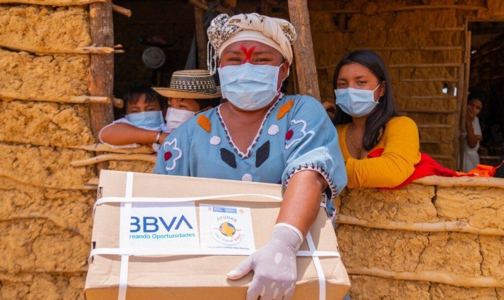 BBVA colombia entregas ayudas covid