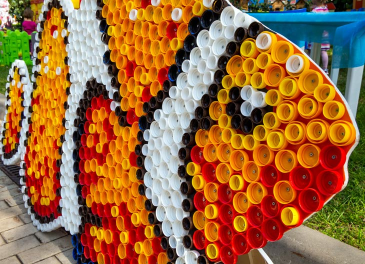 BBVA-reciclado-sostenibilidad-botellas-plastico-reciclaje