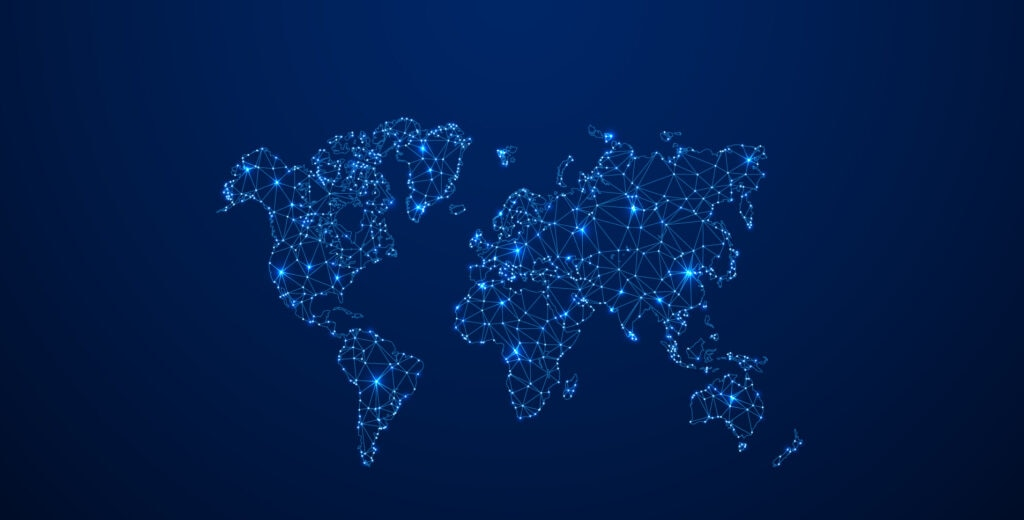 Corresponsalía bancaria BBVA-mapa-mundo-world