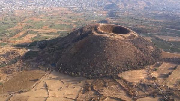 Cortesía de Santiago Arau- Volcan Teuhtli