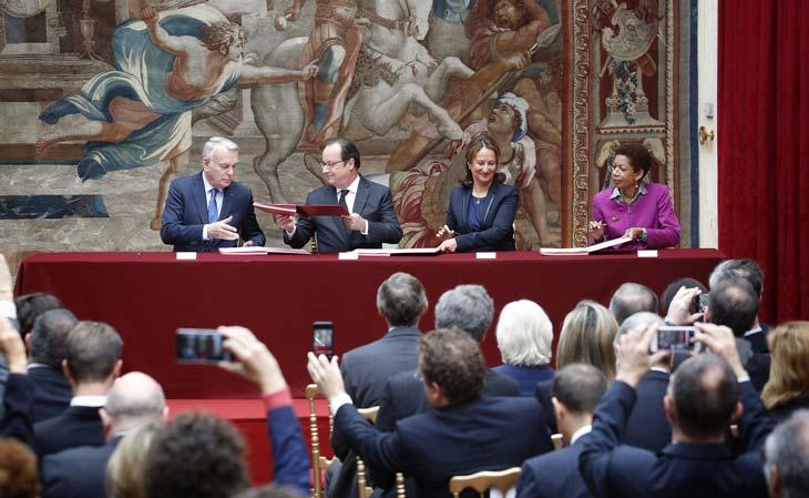 firma-acuerdo-paris-bbva- Foto: Agencia EFE