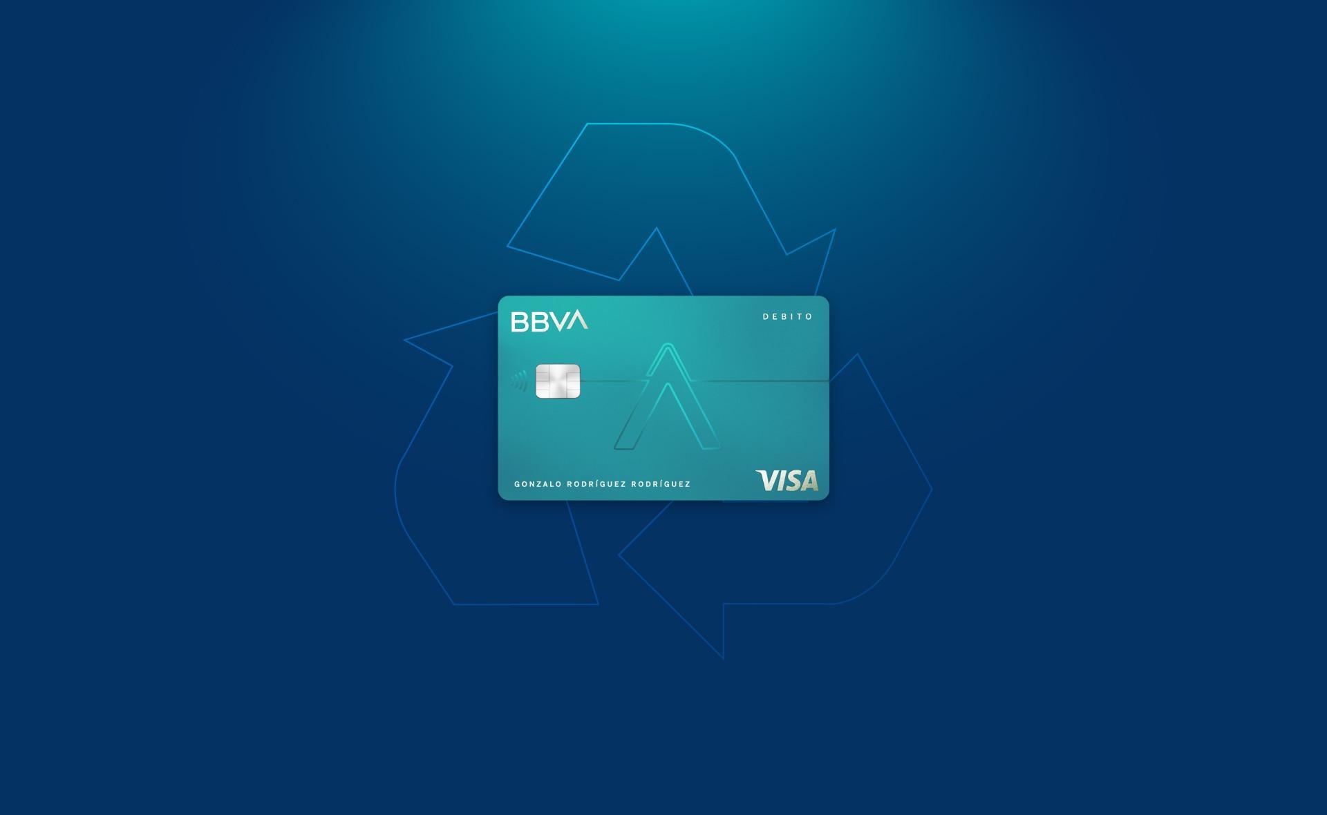 tarjetas-material-reciclado-sostenibilidad-economia-circular-bbva