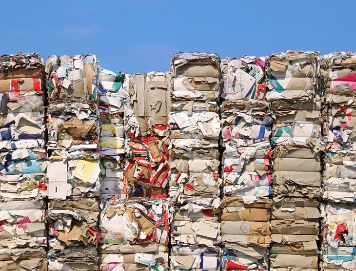 BBVA-papel-reciclado-cuidado-planeta-arboles-prensado-proceso-reciclaje-sosteniblidad