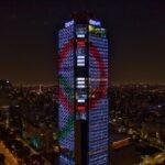 La Torre BBVA México se illumina con los Juegos Olímpicos
