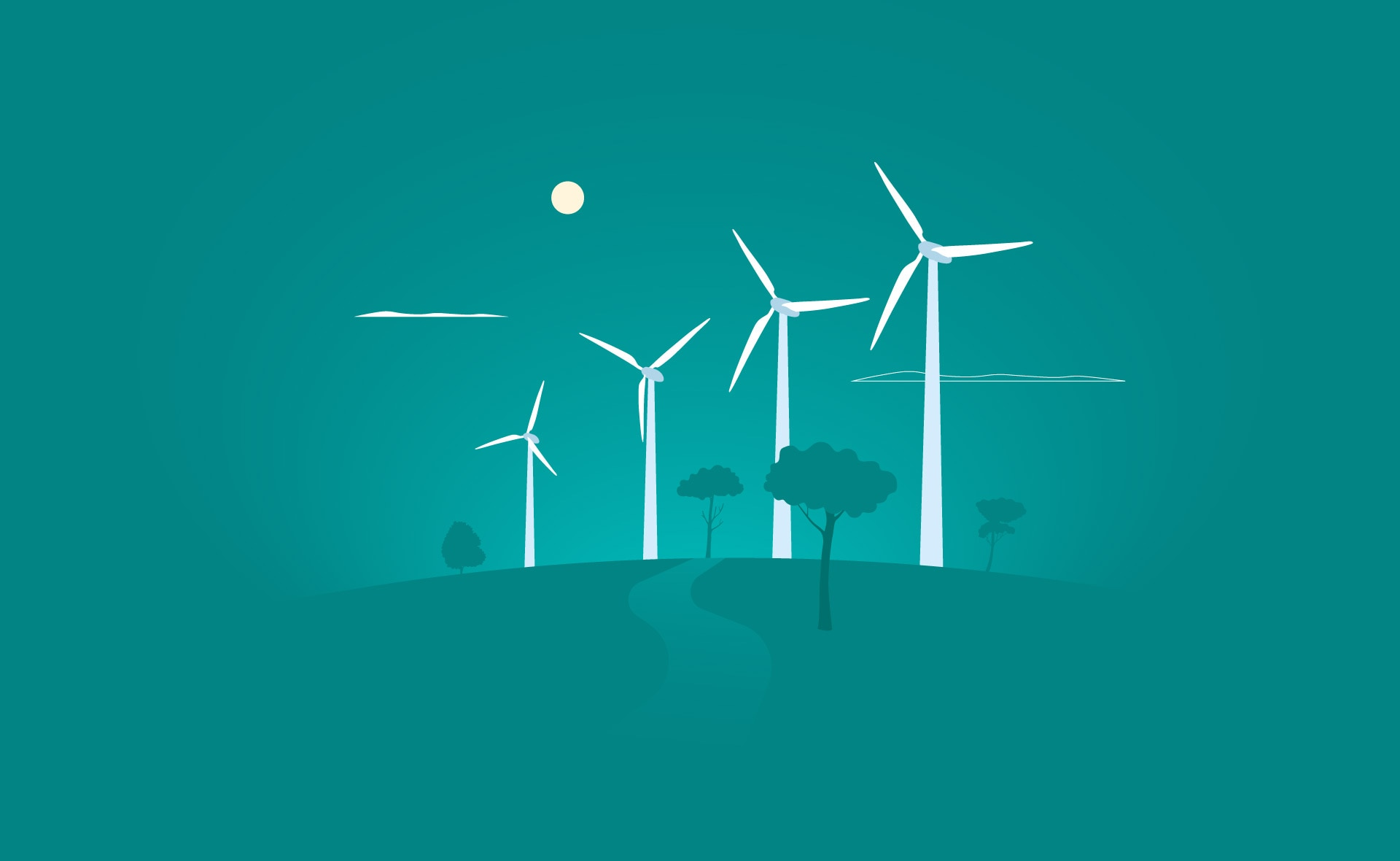 finanzas_verdes_sostenibles-molinos-sostenibilidad-energia-luz-solar-ahorro-cuidado-planeta-medioambiente