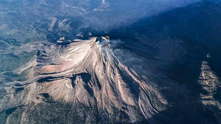 Volcán de Fuego Colima. Cortesía de Santiago Arau