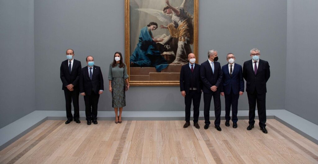 Inauguración oficial de la exposición Goya de la Fundación Beyeler con Su Majestad la Reina Letizia de España Foto Eddy Meltzer