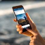 woman instagram app mobile resource bbva