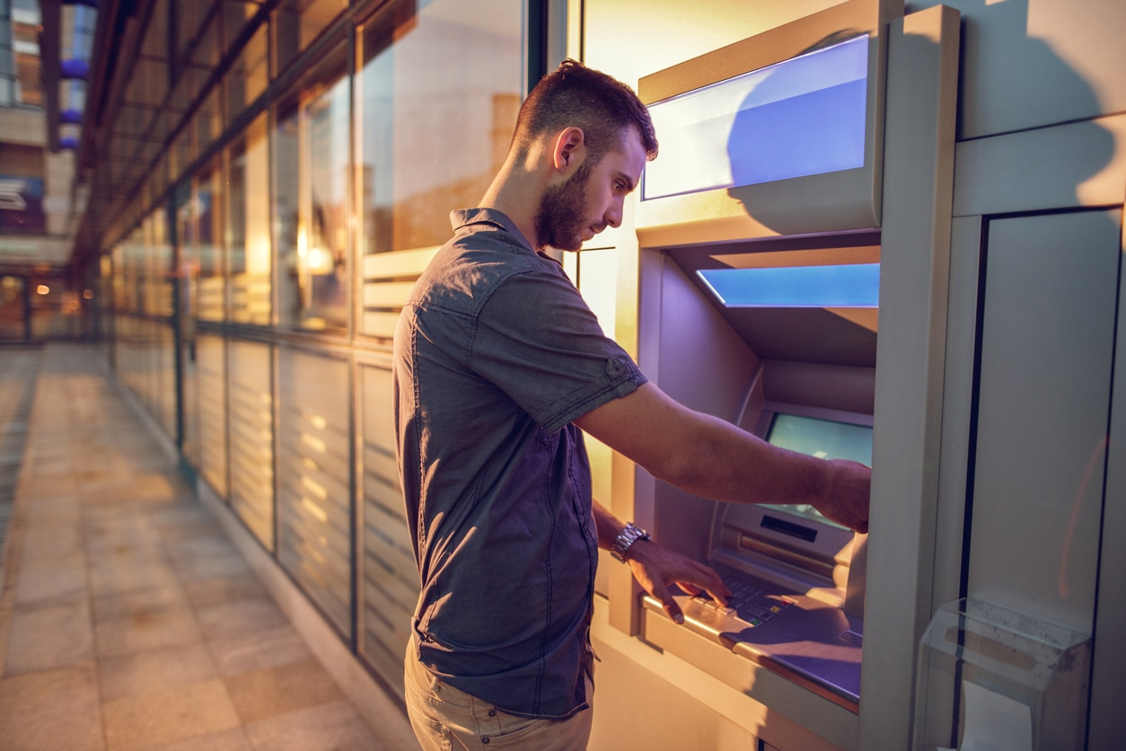 man cash machine credit card resource bbva
