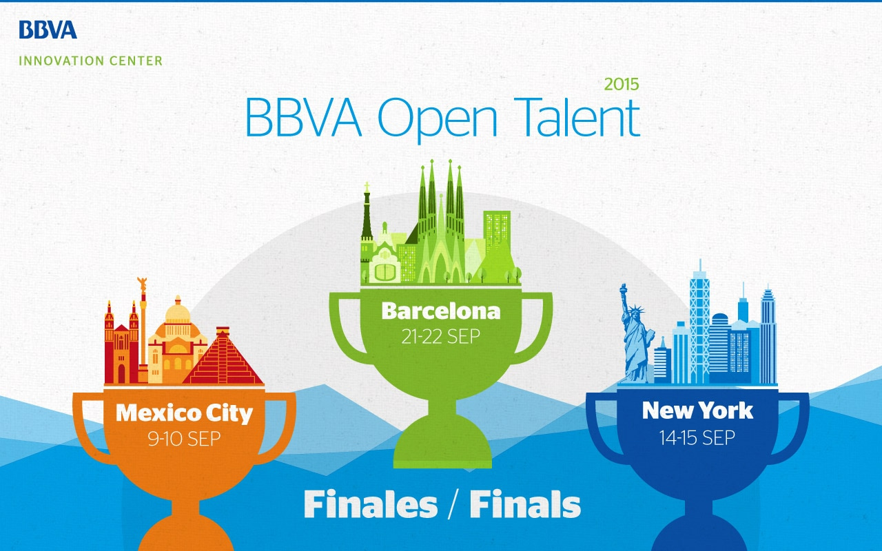 BBVA Open Talent 2015 - Regional Finals