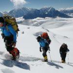 Imagen de la escalada de Carlos Soria en el Annapurna