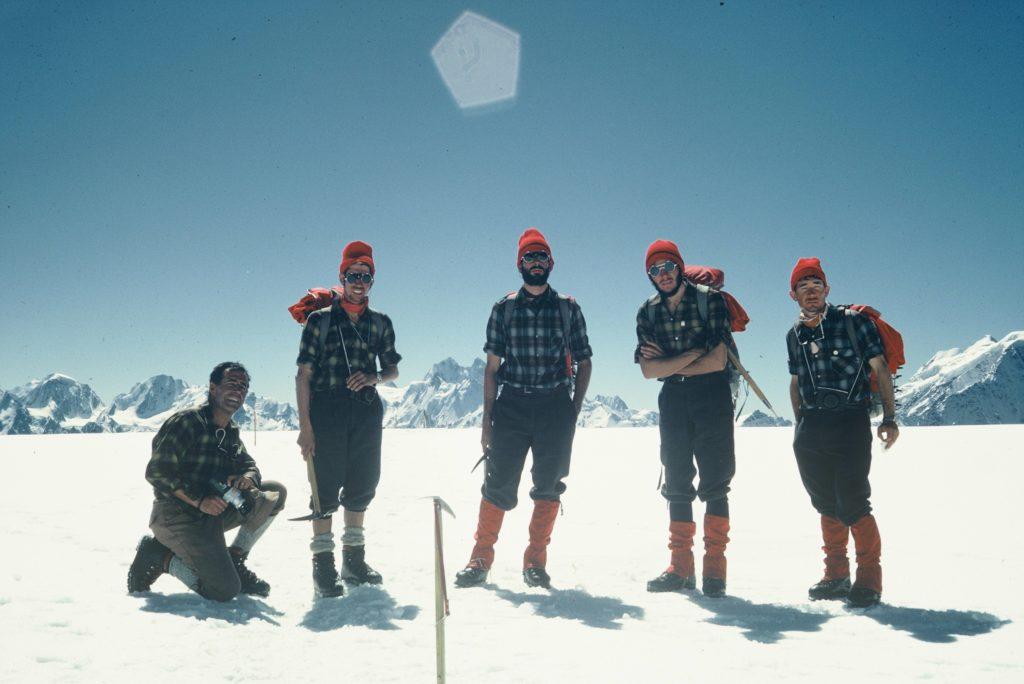 Fotografía de la Expedición McKinley con Carlos Soria
