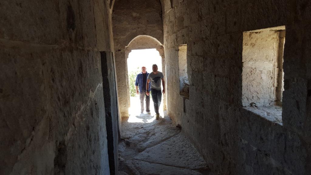 Picture of Jordi Roca in Cappadocia during his journey in Turkey BBVA