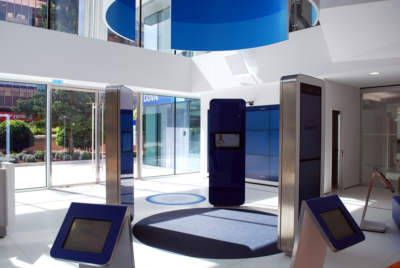 The digital transformation of bbva continental bbva for Oficinas bbva madrid capital