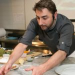 Picture of Jordi Roca cooking in New York