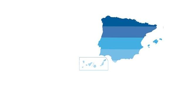 Mapa Spain