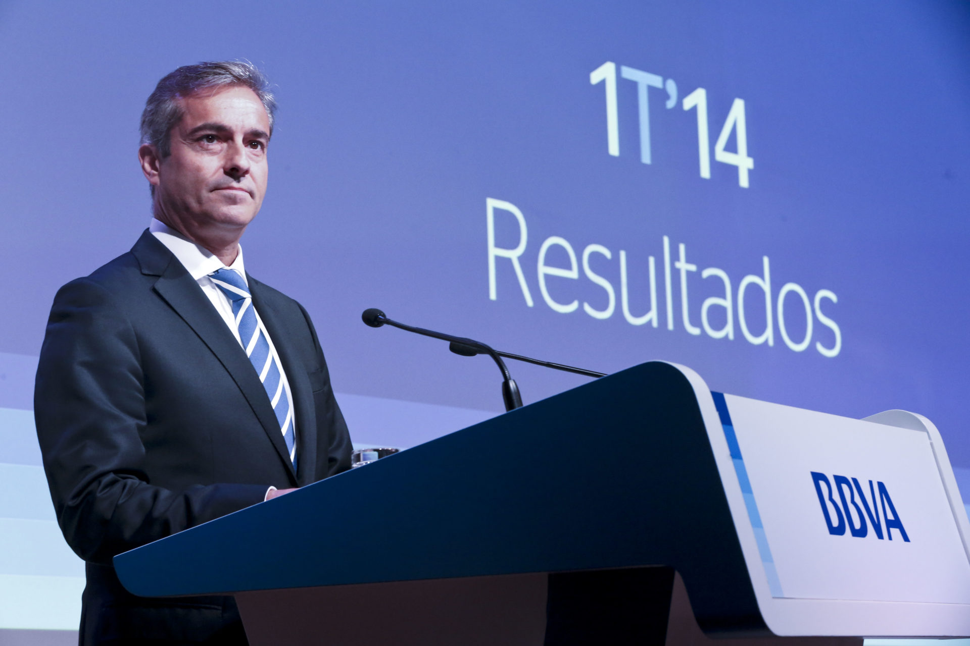 Picture of Ángel Cano. 1Q14 Results