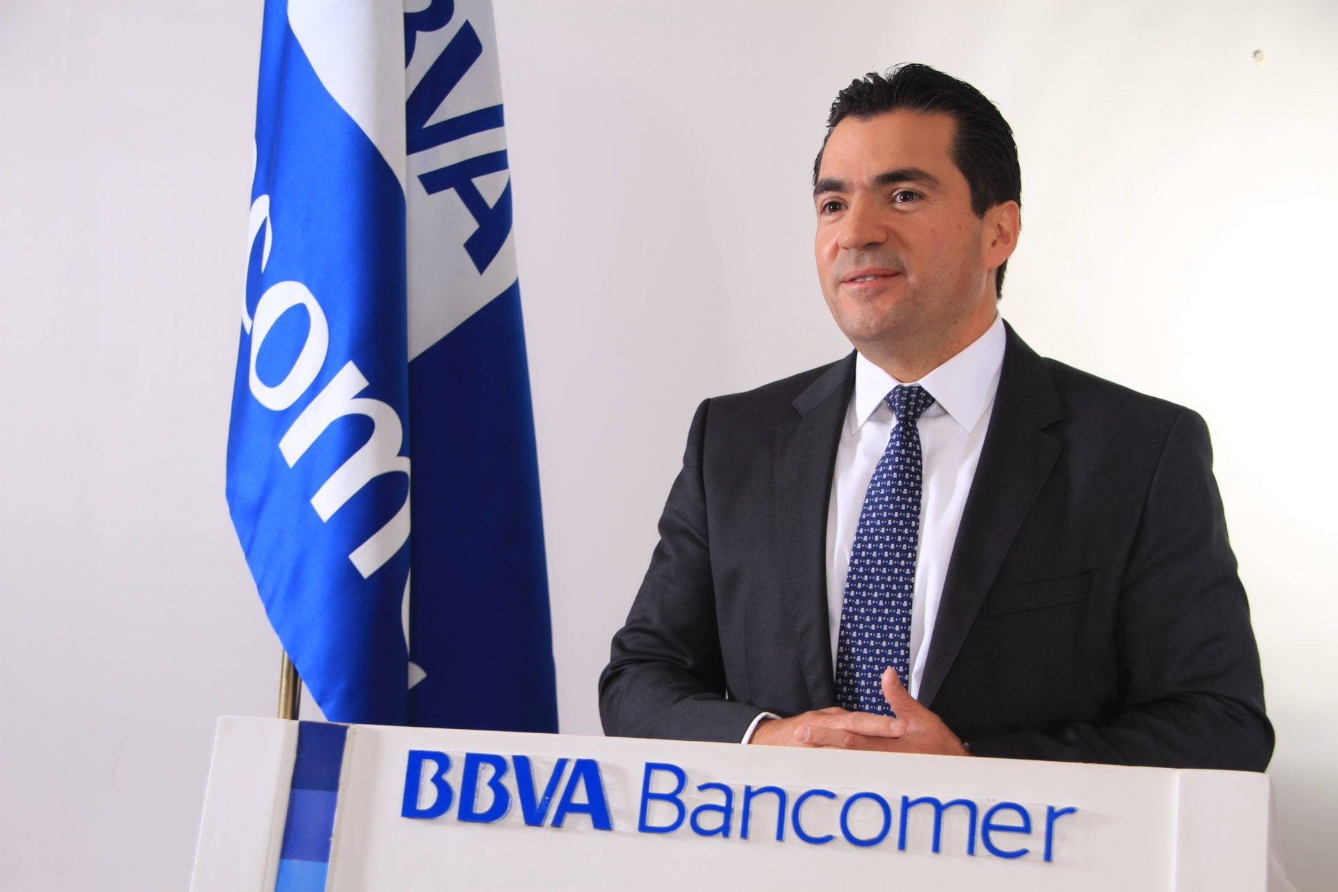 Picture of Eduardo Osuna ,BBVA Bancomer new general manager