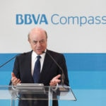 Francisco Gonzalez speaks at the BBVA grand openingin Houston 2013