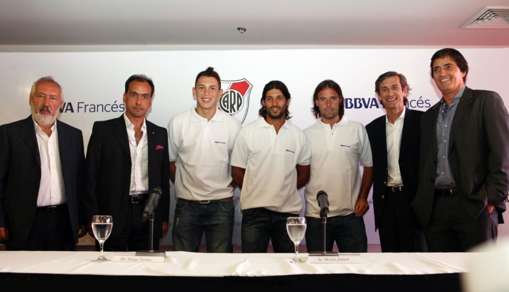 Presentation of the agreement between BBVA Francés and River Plate