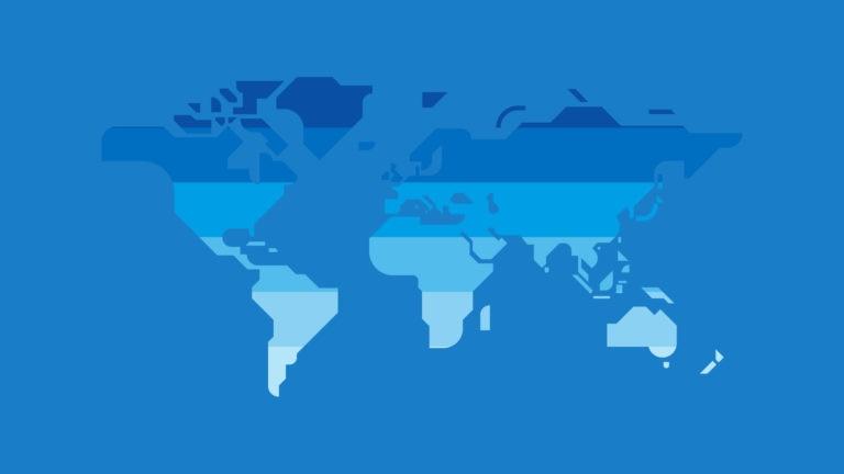 Resource World Map