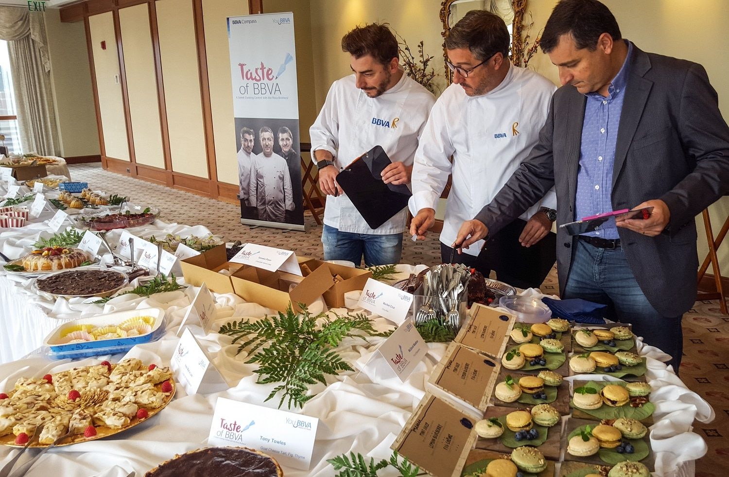 The best dessert contest organized by BBVA Compass