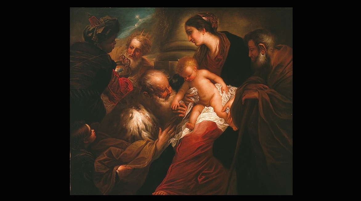 Adoration of the Magi of Valerio Castello from BBVA Collection