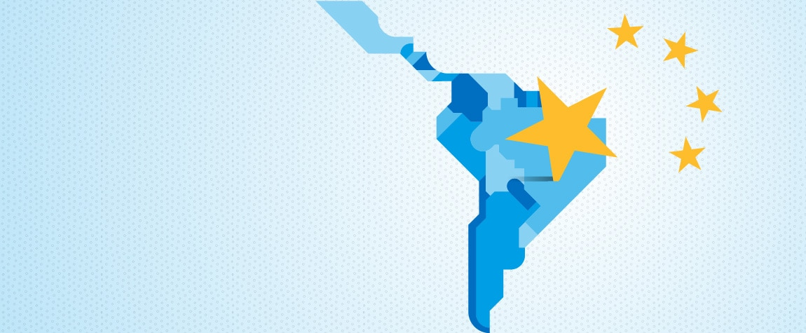 Picture of the effects of China's slowdown in Latin América. BBVA