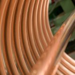 Picture of copper prices at seven year low