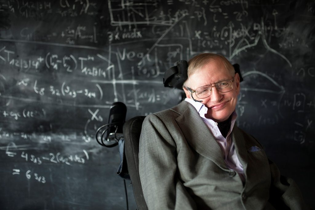 Image of Physicists Stephen Hawking, BBVA Foundation Frontiers of Knowledge Award in Basic Sciences