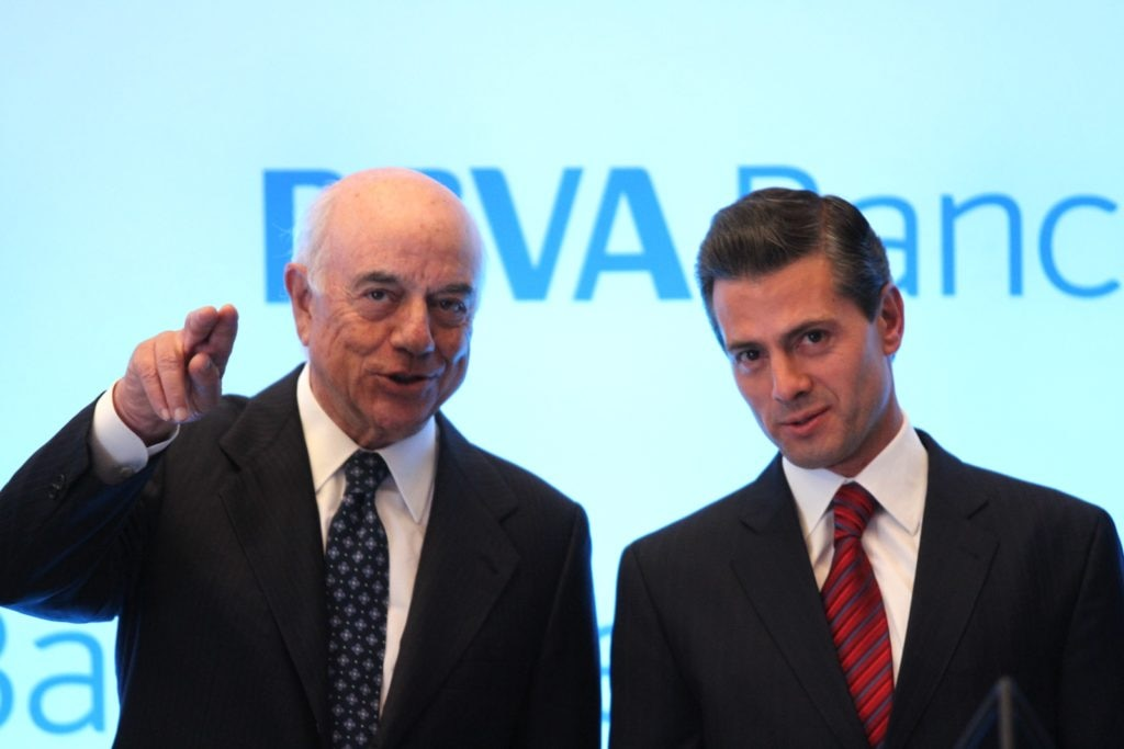Picture of Francisco González and Enrique Peña Nieto
