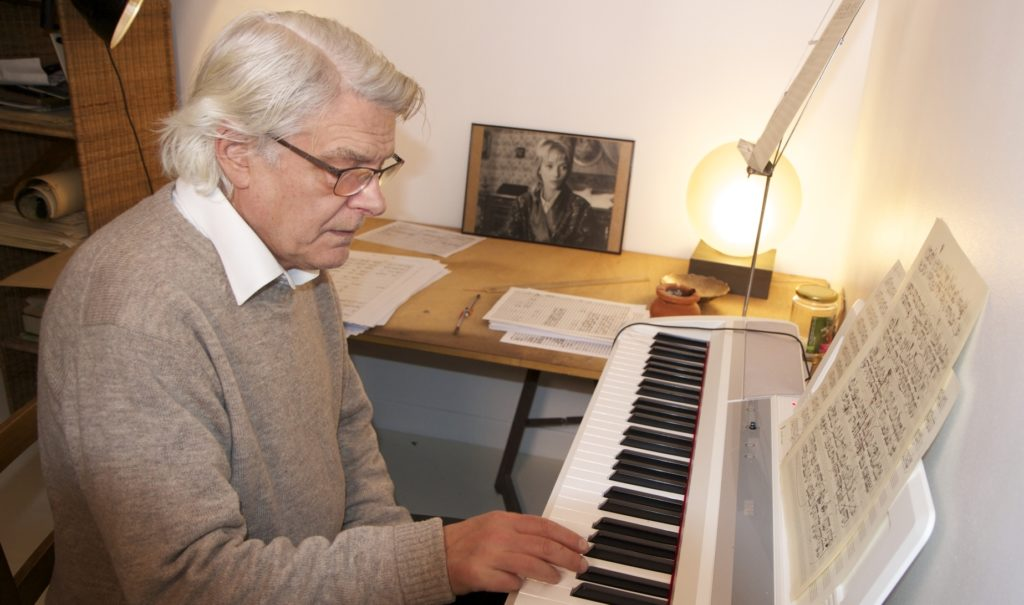 Image of Georges Aperghis, BBVA Foundation's Frontiers Award winner for Contemporary Music