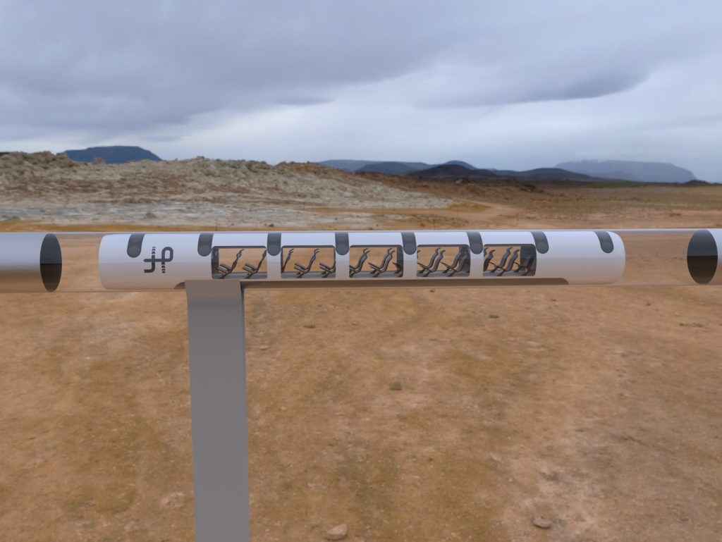 Hyperloop: The fifth mode of transportation, capable of travelling at the speed of sound