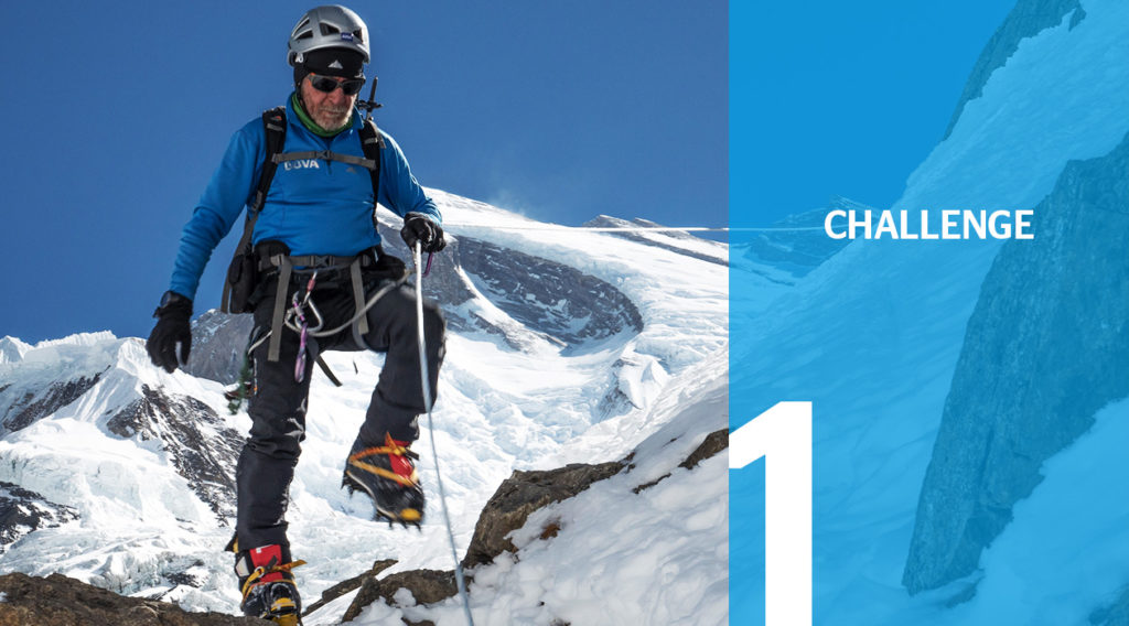 Header the challenge Expedition BBVA with Carlos Soria