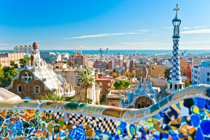 barcelona güell spain resource bbva