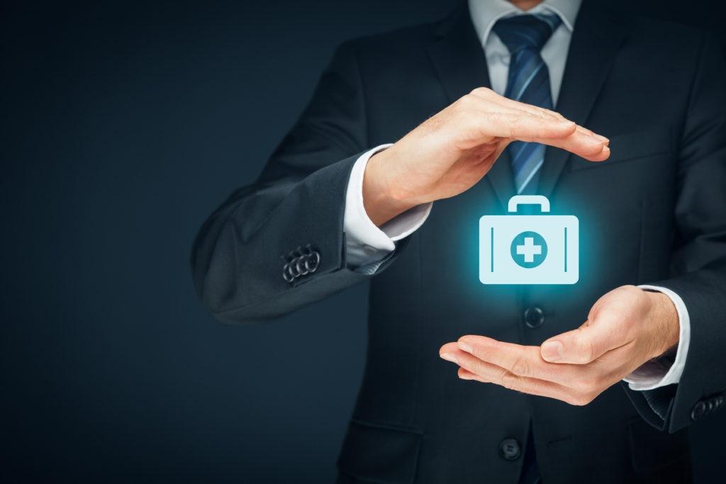 BBVA Medical (health) insurance concept