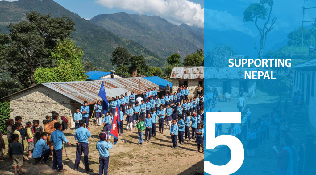 Header Supporting Nepal Expedition BBVA with Carlos Soria