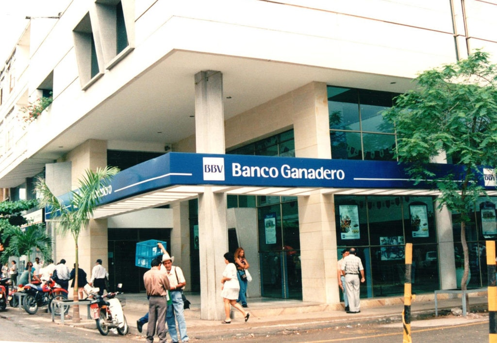 Image of BBVA Colombia Office of BBV Banco Ganadero