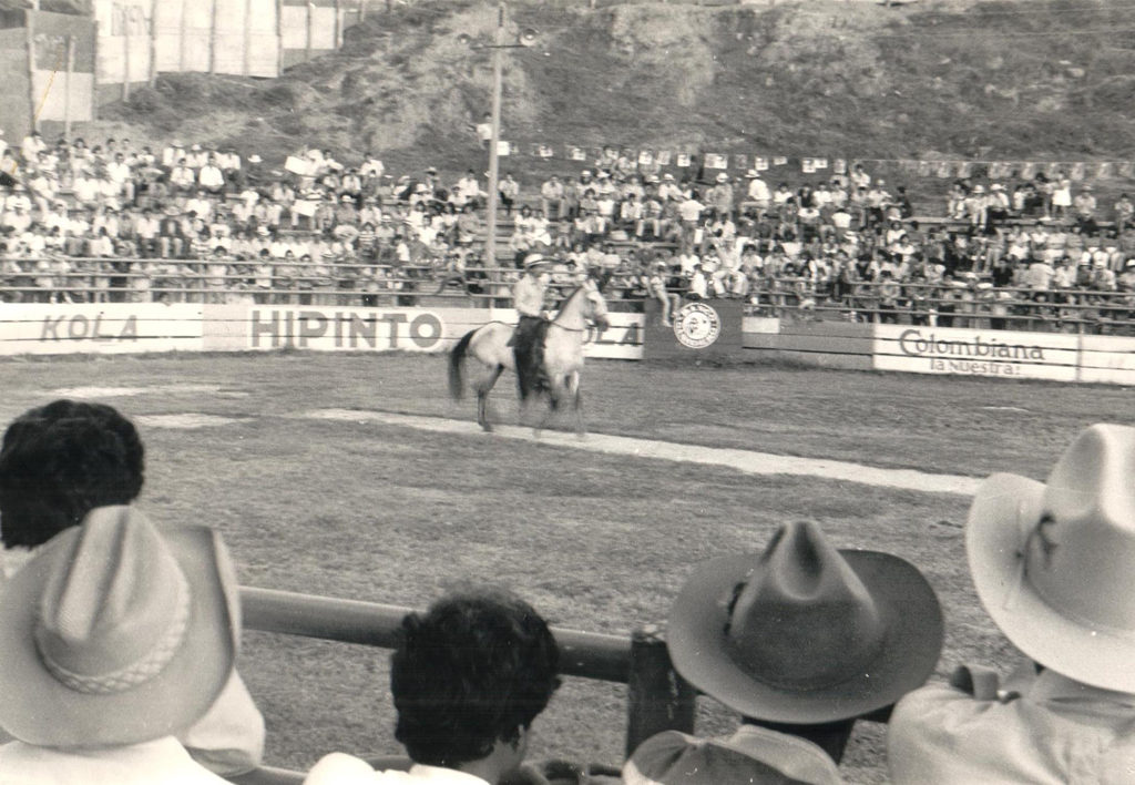 Image of BBVA Colombia Cattle Market 1950s