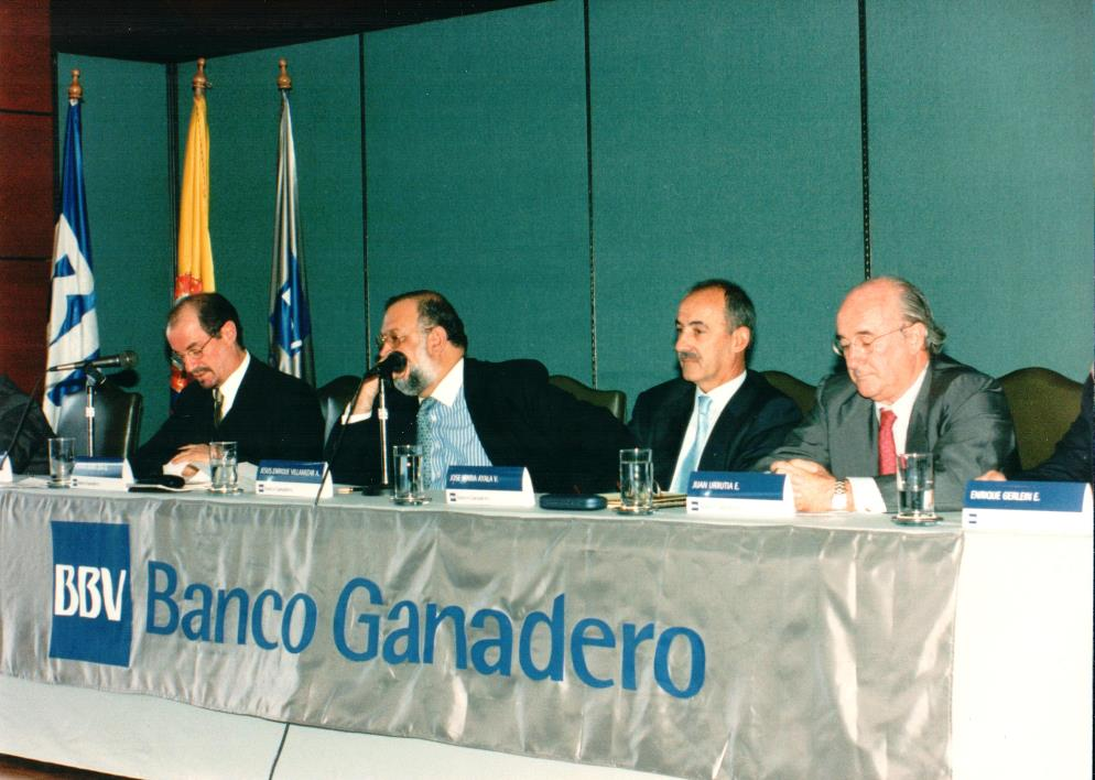 Image of BBVA Colombia BBV Banco Ganadero Shareholders meeting 1998