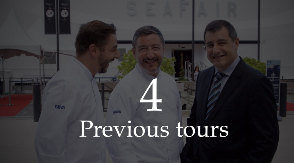 Picture of header previous tours El Celler de Can Roca press kit BBVA