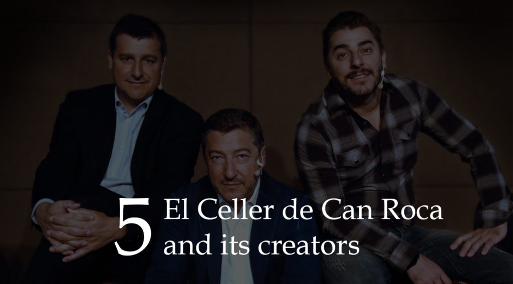 Picture of header CCR and creators El Celler de Can Roca press kit BBVA