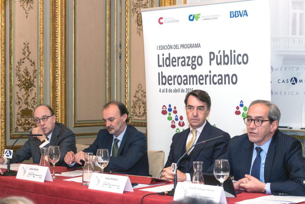 José Manuel González-Páramo. Consejero ejecutivo de BBVA. Fundación Carolina
