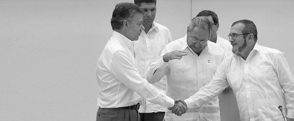 Timeline of the Colombian peace process